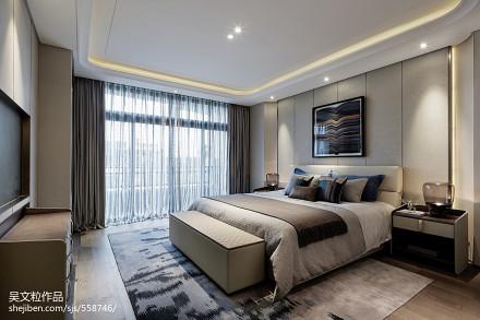 精选现代卧室实景图片大全卧室