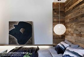 2018133平米简约复式卧室装饰图片欣赏
