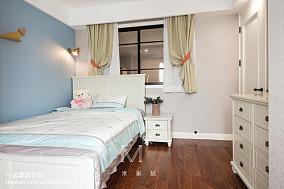 精美面积99平美式三居儿童房装修设计效果图片