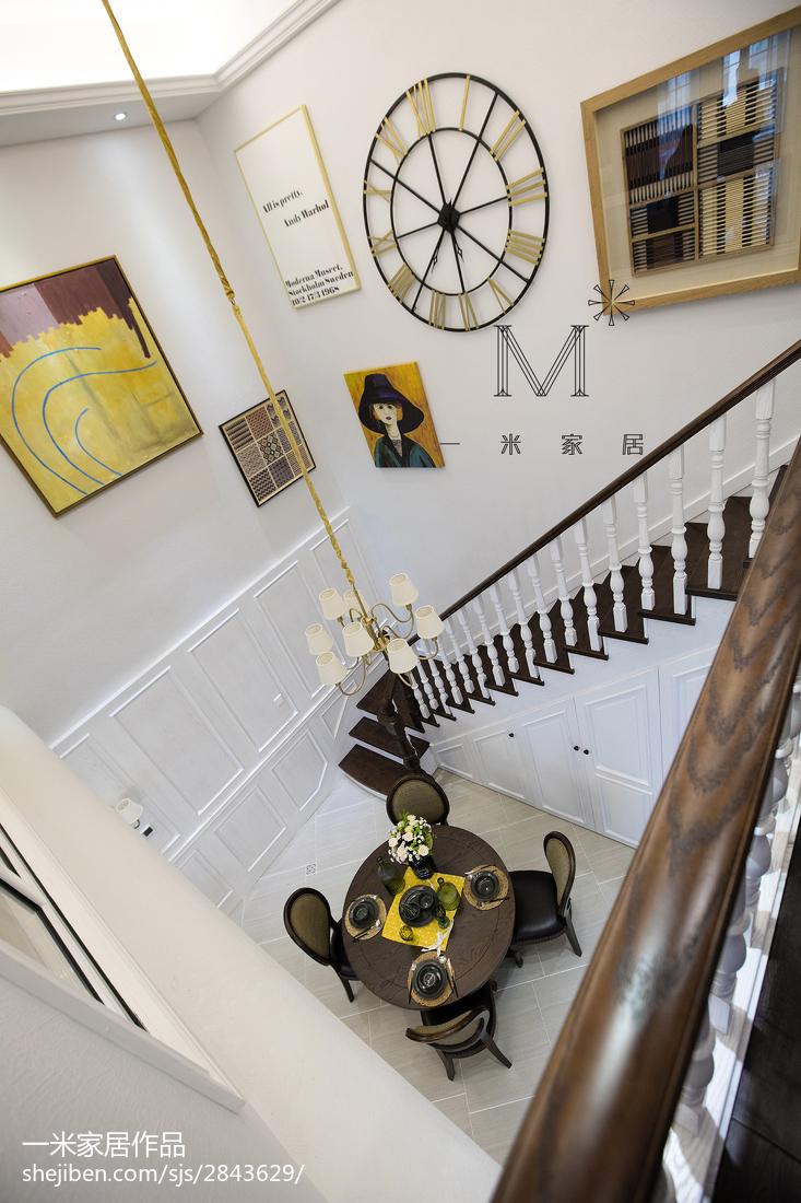 精美160平美式三居设计图三居美式经典家装装修案例效果图