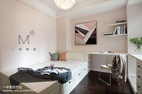 优美102平美式三居装修图片三居美式经典家装装修案例效果图