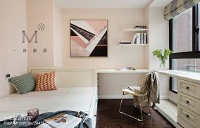 精选面积96平美式三居儿童房装修效果图片三居美式经典家装装修案例效果图