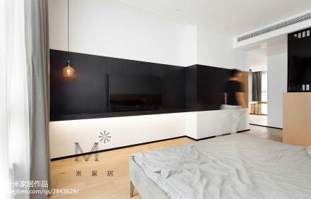 精致78平简约三居卧室设计案例