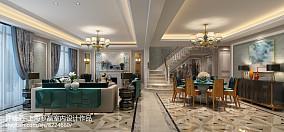 美式装修风格样板房别墅设计参考