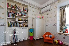 2018精选面积97平美式三居儿童房装修效果图
