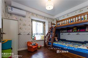 热门99平米三居儿童房美式欣赏图片