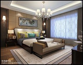 精选100平米三居卧室简约装修图片