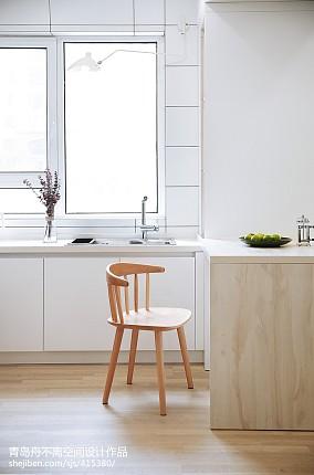 2018精选103平米三居厨房北欧装修效果图片大全
