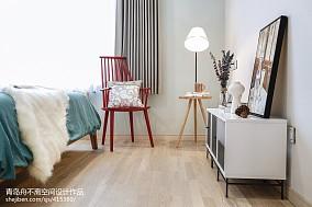 热门三居卧室北欧装修图片欣赏