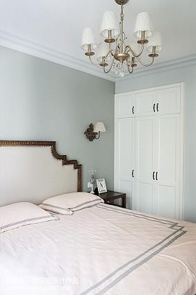 浪漫114平美式三居卧室装潢图卧室美式经典设计图片赏析
