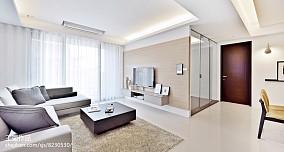 2018精选面积72平二居客厅装修设计效果图片大全