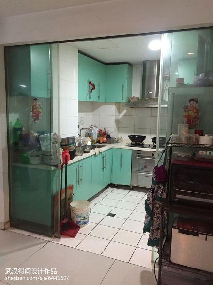 典雅109平美式三居厨房美图餐厅