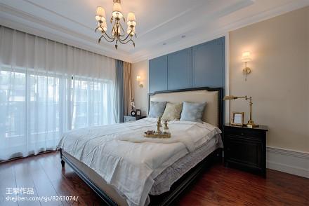 2018复式卧室美式装修图片大全卧室