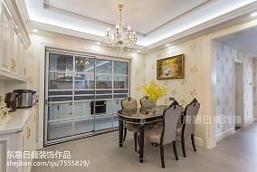 精选二居餐厅欣赏图片大全二居欧式豪华家装装修案例效果图