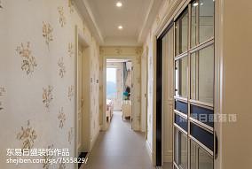 2018精选面积72平二居过道装修图片欣赏家装装修案例效果图