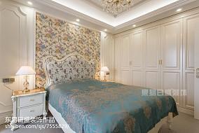 2018二居卧室装修效果图片大全家装装修案例效果图