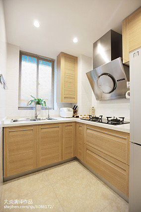 简约日式厨房设计样板间大全
