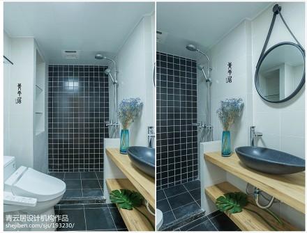 2018日式三居卫生间装修图片卫生间