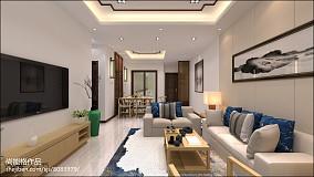 热门中式二居装修效果图片欣赏