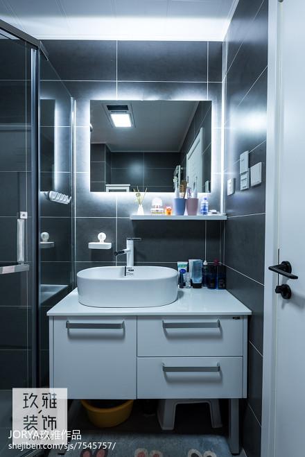 简约二居卫浴设计图片卫生间