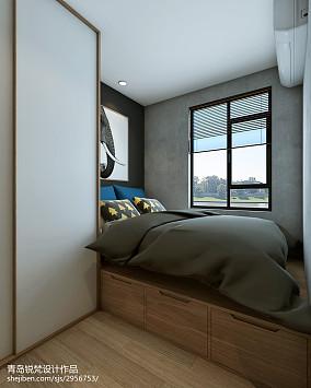 热门北欧小户型卧室效果图