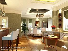 中式简约风格客厅装修效果图片