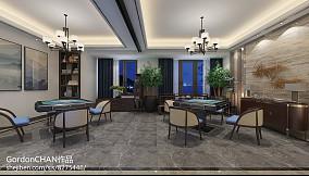 热门126平米四居休闲区田园装修设计效果图片