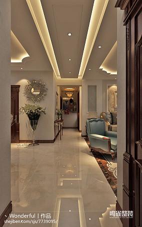 现代风格婚房卧室吊顶装修效果图