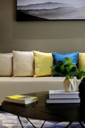 2018精选114平米现代复式客厅装修效果图
