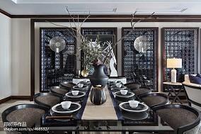 精美别墅餐厅东南亚装修效果图家装装修案例效果图