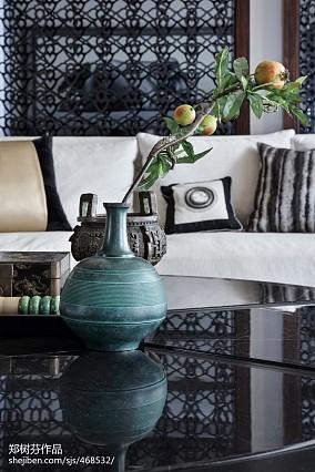 面积122平别墅客厅东南亚实景图片欣赏家装装修案例效果图