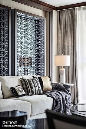 精选133平米东南亚别墅客厅装饰图片欣赏家装装修案例效果图