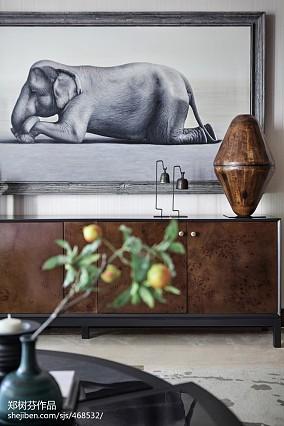 东南亚别墅客厅装修欣赏图片家装装修案例效果图