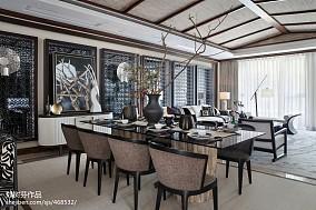 东南亚风格豪宅餐厅设计图片家装装修案例效果图