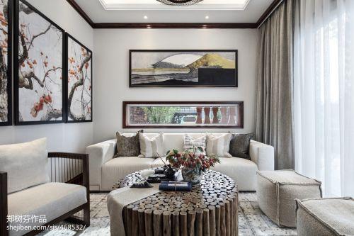 热门132平米东南亚别墅休闲区装修欣赏图片客厅窗帘201-500m²潮流混搭家装装修案例效果图