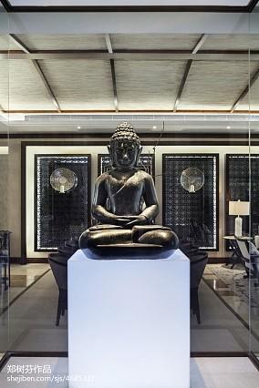 精选面积120平别墅客厅东南亚装修图片欣赏家装装修案例效果图