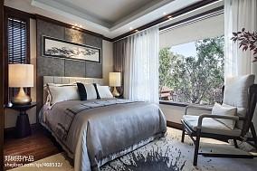 精美别墅卧室东南亚欣赏图家装装修案例效果图