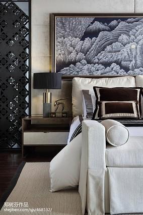 精选面积124平别墅卧室东南亚装修设计效果图片别墅豪宅潮流混搭家装装修案例效果图