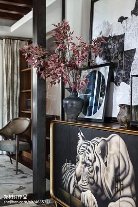 热门135平米东南亚别墅休闲区装饰图片欣赏家装装修案例效果图