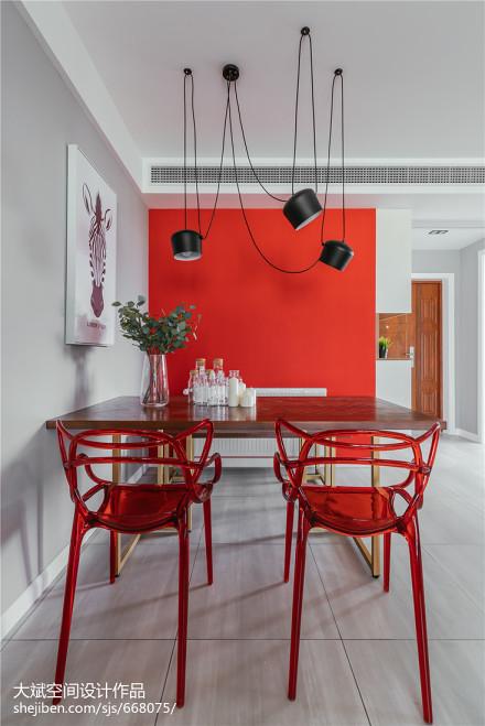 平米二居餐厅北欧装修欣赏图片厨房2图