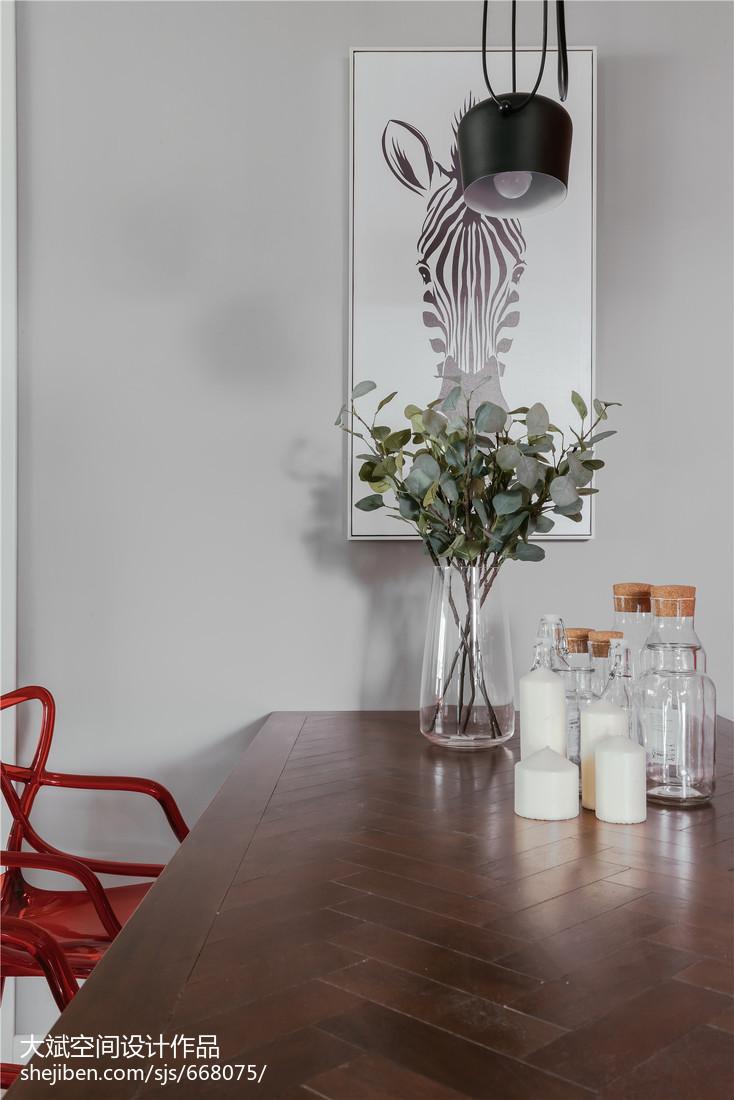 2018面积78平北欧二居客厅装修实景图片欣赏客厅