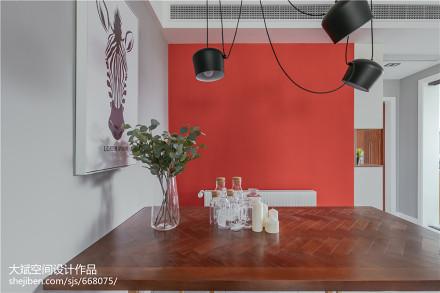 精选89平米二居餐厅北欧装修欣赏图厨房1图