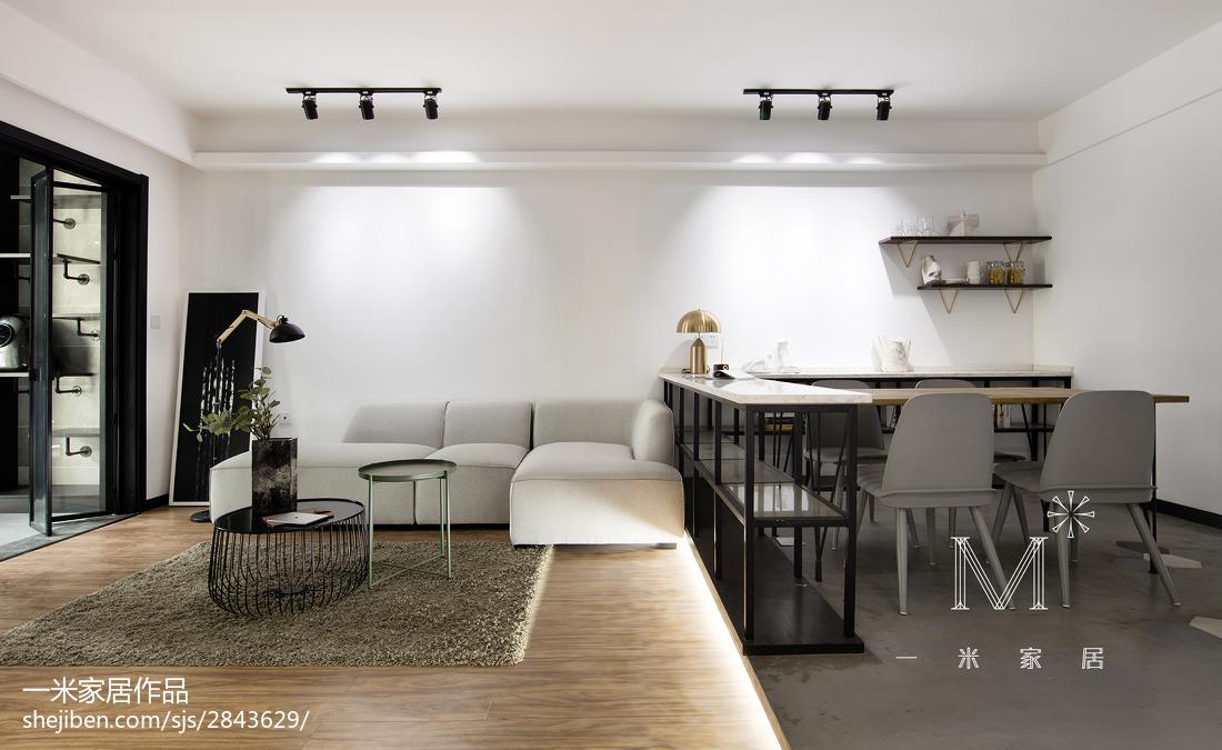 精选100平米三居现代装饰图片欣赏客厅现代简约客厅设计图片赏析
