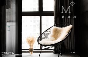 精选103平米三居阳台现代装修设计效果图片欣赏