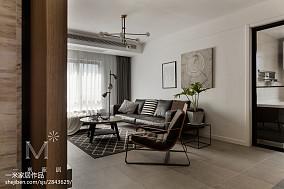 2018102平方三居客厅现代装修设计效果图