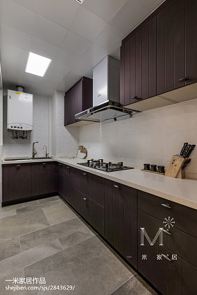 平米三居厨房北欧装修设计效果图片大全三居北欧极简家装装修案例效果图