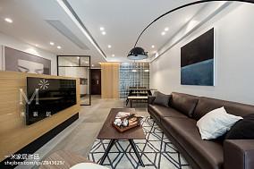 热门109平米三居客厅北欧效果图三居北欧极简家装装修案例效果图