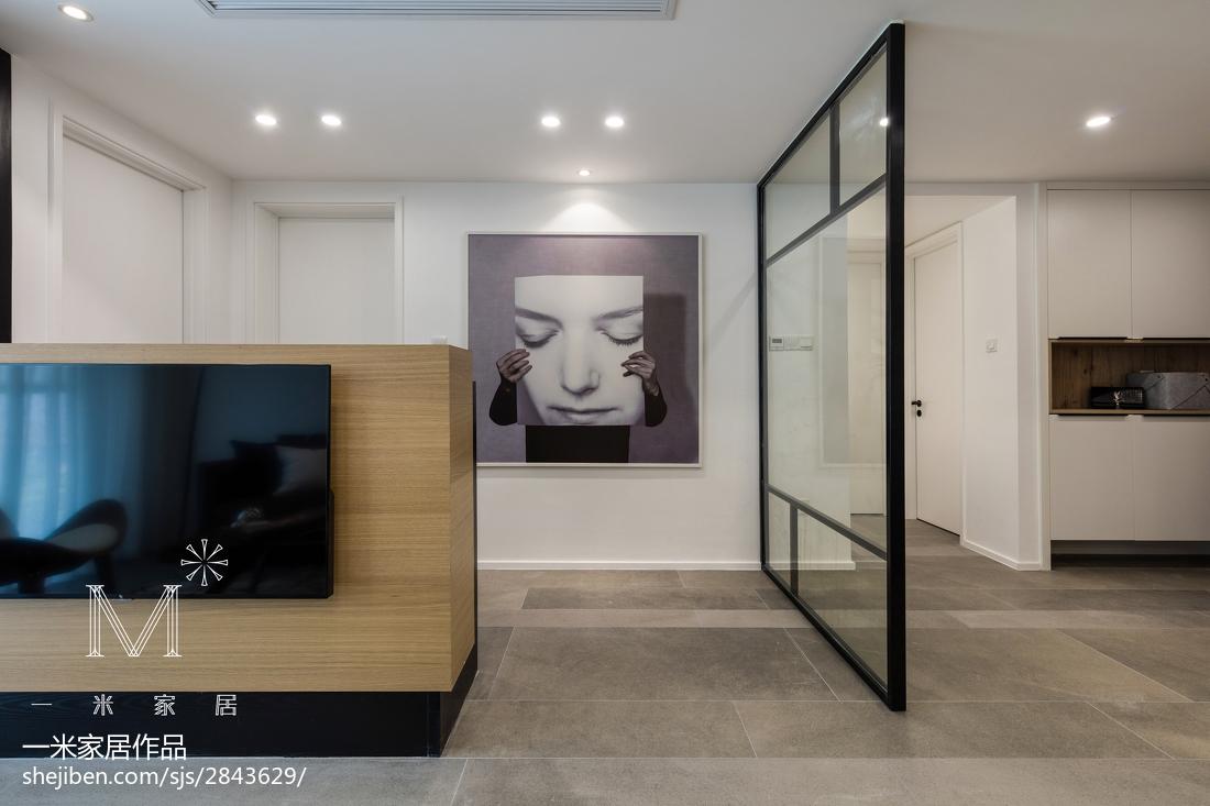 2018精选91平米三居客厅北欧装修效果图客厅1图