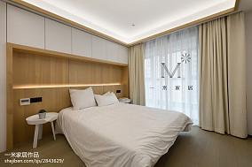 104平方三居卧室现代装修实景图片家装装修案例效果图