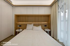 2018精选91平米三居卧室现代装修图片家装装修案例效果图